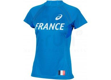 Asics Tee-Shirt Equipe de France W